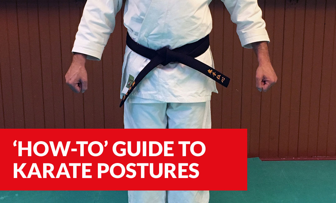 The Complete List Of Basic Karate Stances